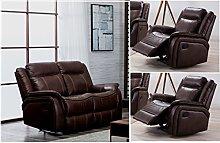 SC Furniture Ltd Brown High Grade Leather Gel