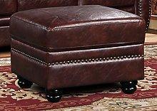 SC Furniture Ltd Brown Leather 3 Seater Sofa