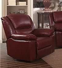 SC Furniture Ltd Burgundy Red High Grade Leather