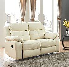 SC Furniture Ltd Cream Ivory High Grade Leather