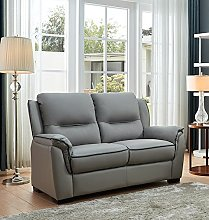 SC Furniture Ltd Grey High Grade Genuine Leather 2