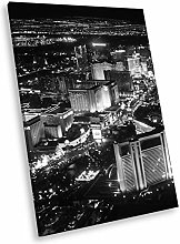SC230 Las Vegas Skyline Black White Portrait