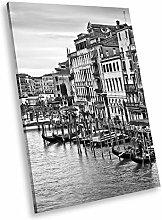 SC560 Venice Sunrise Italy Black White Portrait