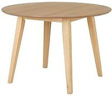 Scandi 110 Cm Round Dining Table