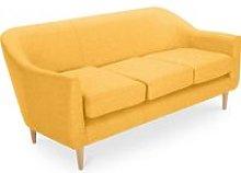 Scandinavian design Penny 3 seater sofa Yellow