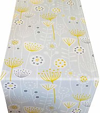Scandinavian Style Table Runner. Dove Grey with