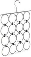 Scarf Hanger, Folding Holder for Ties & Belts, 16