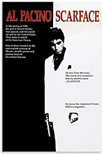 Scarface Classic nostalgic movies Canvas Art