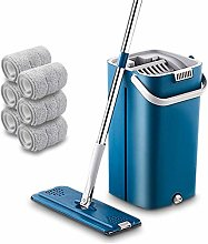 SCAYK 2020 latest Mop Set Free Hand Wash Flat Mop