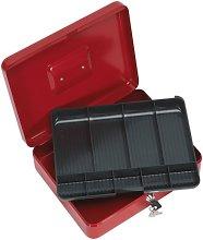 SCB4 Key Lock Cash Box 300 x 240 x 90mm - Sealey