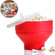 SCD Microwave Popcorn Popper Sturdy Convenient