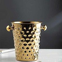 SCDZS Ice Bucket Wine Champagne Bucket, 5L Large