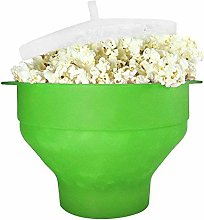 Scelet Silicone Microwave Popcorn Maker, Homemade