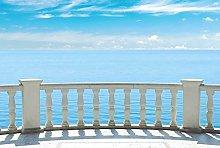 Scenolia BALCON SUR LA MER Panoramic Wallpaper