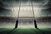 Scenolia Rugby Stade Panoramic Poster Wallpaper 4