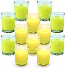 SCENTORINI Citronella Candles, 12 x 50 g,