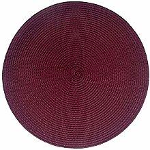 SCF2017 Round Woven Plastic Placemats 35cm Table