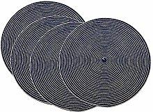 SCF2017 Thicker 38CM Round Woven Cotton Yarn