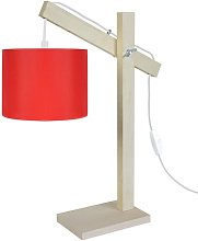 Schaffer 50cm Desk Lamp Mikado Living Base Colour: