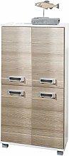 Schildmeyer Midi Cabinet, Rough Oak, B/H/T CA.
