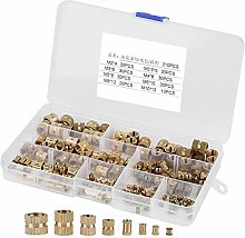 Schneespitze 210 Pcs Assorted Rivet Nuts Set,Rivet