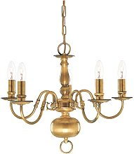 Schoenberg 5-Light Candle-Style Chandelier Ophelia