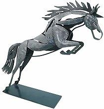 Schreiblichkeit Metal Sculpture Horse Arod 31 x 36