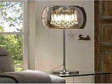 Schuller Argos - 4 Light Crystal Table Lamp