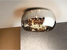 Schuller Argos - 5 Light Crystal Flush Ceiling