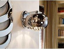 Schuller Argos - Crystal Wall Lamp Chrome, Mirror,