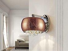 Schuller Caelum - Crystal Wall Lamp Copper, G9