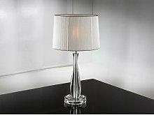 Schuller Lin - Table Lamp Silver, E27