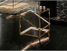 Schuller Moonlight - Integrated LED Crystal Table