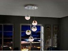 Schuller Sphere - Integrated LED Cluster Drop