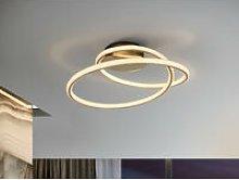 Schuller Tube - Integrated LED Semi Flush Ceiling