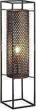 Schuller Vera - Floor Lamps , Black, Gold, 1x E27