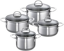 Schulte Ufer Wave 8 Piece Stainless Steel Cookware