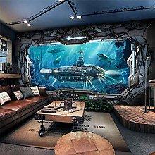 Sci-Fi Theme Wallpaper E-Sports Hotel Bar Internet