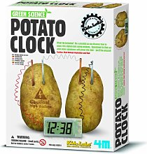 Science Kit Potatoes Powered Clock Suitable for 8