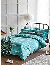 Scion Mr Fox Cotton Bedding, Blue