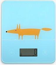 Scion Mr Fox Electronic Digital Kitchen Scale,