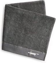 Scion Mr Fox Embroidered Bath Towel, Graphite