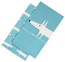 Scion Mr Fox Set Of 2 Tea Towels