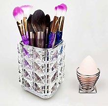 sciuU Crystal Makeup Brush Holder + Beauty Sponge