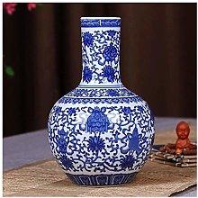 SCJ Ceramic Vase Ancient Blue And White Porcelain