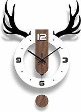 SCJ Decorative Wall Clock,Modern acrylic silent