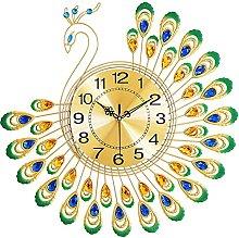 SCJ Modern Metal Wall Clock Fashion Pendulum Clock