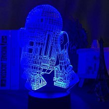 SCNYCUL 3D Night Light Playing Card sieve7 Colors