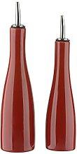 Scoop BIA Oil & Vinegar Set Red, 550ml (18oz)