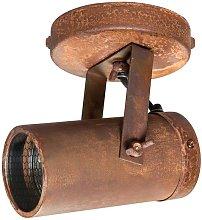 Scope light spot rust finish